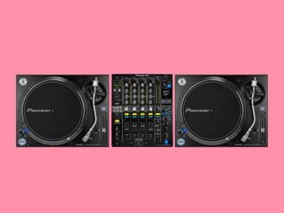 Pioneer Vinyl DJ Mixing